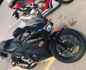 Honda CBR 125, scorpion exhaust, 1 carful owner, full service history, great first bike, CBT legal