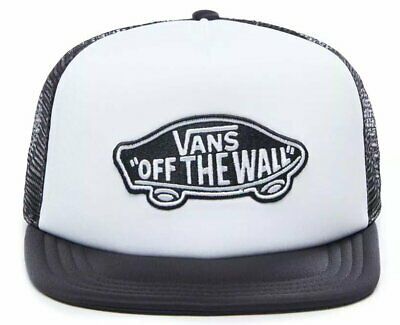 VANS Classic Patch Trucker In Racing White/Black