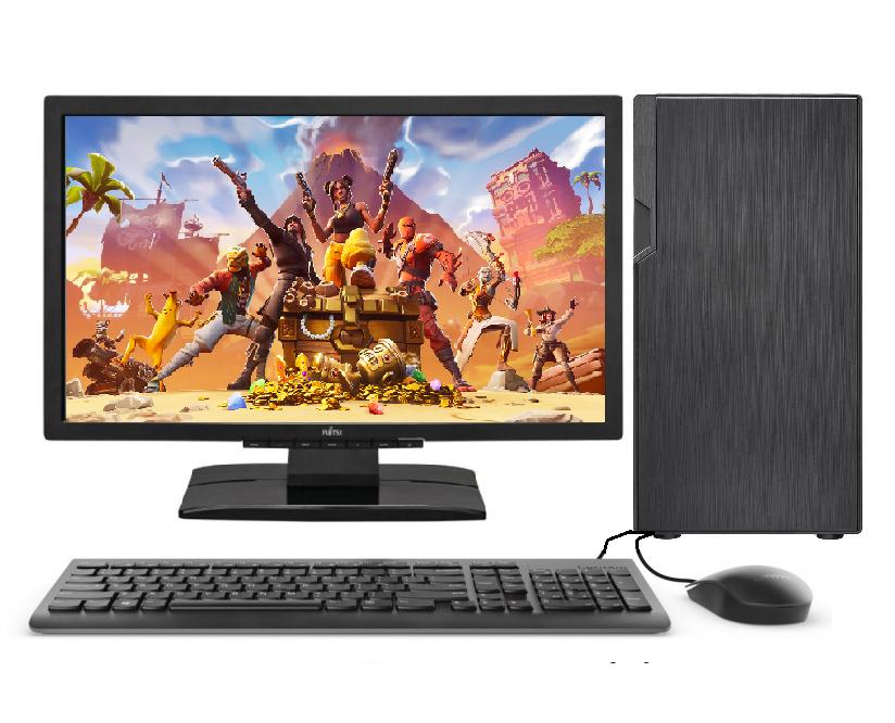 Gaming PC Desktop Computer Set Intel Core i3 9th Gen 4.2GHz@
