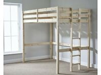Double high sleeper bunk bed