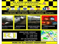 mechanics,diagnostics,winter service special price,welding,bodywork all under one roof,call 4 quote