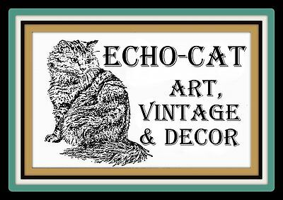 Echo-Cat Art Vintage and Decor