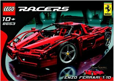 Lego Technic Enzo Ferrari 8653 1:10 Extremely Hard to find, 100% complete 2005