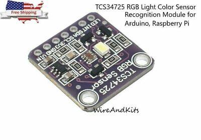 Tcs34725 Rgb Light Color Sensor Recognition Module For Arduino Raspberry Pi