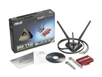 ASUS PCE-AC68 Dual Band PCI Express Adaptor Boxed