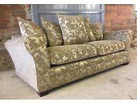 NEW Mocha 3 Seater Sofa, Can Deliver