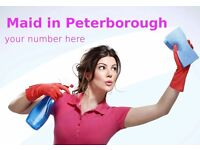 Work For Yourself £15 per hour - Maid Services & Cleaning Website Peterborough