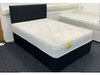 Same Day Delivery Double Size Size Divan Bed Mattress Limited Stock