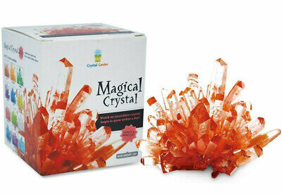 RUBY RED Magic Crystal Growing Kit Mystic Rock Garden DIY Science Experiment