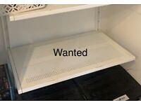 WANTED - Ikea Algot Shelf x 2 - 60x38cm
