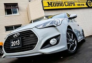 2013 Hyundai Veloster 4 Cyl 1.6L Turbo! MANUAL! ONLY $123/bi-wee