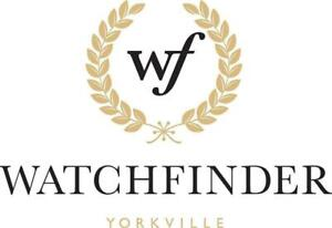 WATCHFINDER IS THE Best reliable and Honest Pre-Owned Rolex Watch Dealer in Canada Since 2009