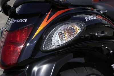 Suzuki Genuine GSX-R1300R K8 - L0 Carbon Look Rear Indicator Cover Set