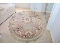 Oval rug