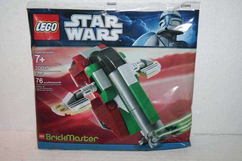 2011 LEGO STAR WARS 20019 SLAVE I, BRICKMASTER SUBSCRIPTION EXCLUSIVE SET, NEW!
