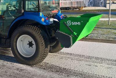 Sami Sls1000 Self Loading Tractor 3pt. Pto Salt And Sand Spreader-40 Inch