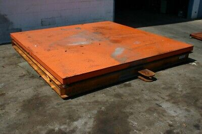 20000 Lbs Brechbuhler Platform Scales Yoder 19774
