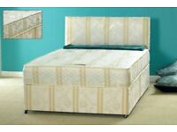 🌷💚🌷CHEAPEST GUARANTEED🌷💚🌷BRAND NEW DIVAN BED FOR SALE SINGLE,DOUBLE & KING WITH MATTRESS