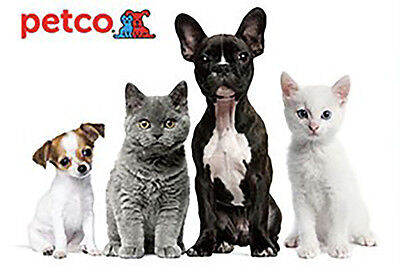 Petco Gift Card    25  50 Or  100   Email Delivery