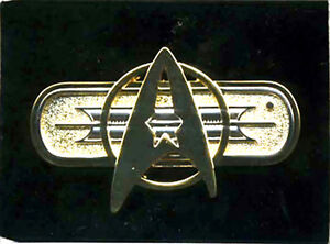 Star Trek Federation Uniform Deluxe Insignia Jacket Pin-Movies