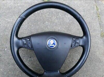 saab 9-3 steering wheel