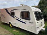 2011 Bailey Genoa Pegasus 2 Caravan 4 Berth White Single Axle For Sale