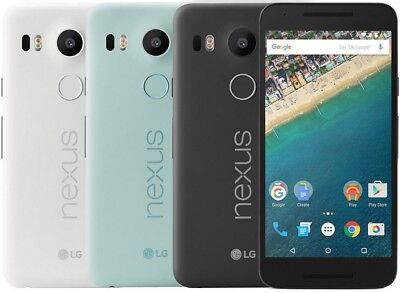 "LG Nexus 5X H790 16/32 c (Unlocked) GSM Cell Phone SmartPhone 5.2"" AT&T T-Mobile"
