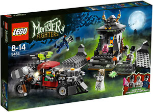 LEGO-Monster-Fighters-9465-The-Zombies-NEW-Factory-Sealed-Help-Jack-McHammer