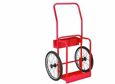 Gas Welding Cart Rolling Roll Storage Organizer Mig Tig Arc Tank Steel Tray Tool