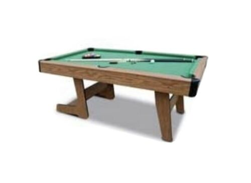 Debut 6ft Folding Pool Table Complete Set