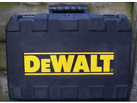DEWALT CARRY CASE FOR D25012 / D25013 ELECTRIC DRILL