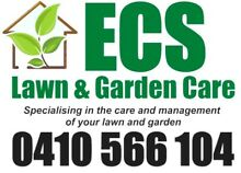 ECS Lawn & Garden Care New Lambton Newcastle Area Preview