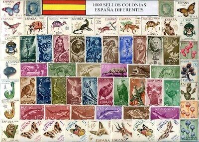 Colonias Españolas / Varios       US 1000 sellos diferentes / elegante presenta