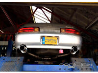 Toyota Soarer with a Proflow Middle / Dual Rear Stainless Steel Exhaust