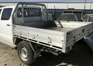 2013 Toyota Hilux alloy tray with drop down sides