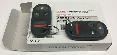 Genuine Honda OEM - CR-V Set of 2 Keyless Entry Remotes Fobs Kit - 08E61S10100