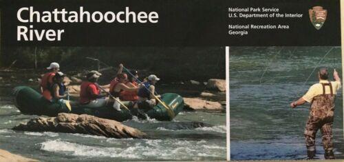 New 2019 CHATTAHOOCHEE RIVER REC - GA NATIONAL PARK SERVICE UNIGRID BROCHURE Map