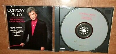 Conway Twitty The Best Friend Song Ever Had Radio Show CD 1993 w/ Diffie & (The Best Friend Ever)