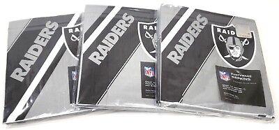 NFL Oakland Raiders 48pcs Napkins Partyware Party Supplies - Oakland Raiders Party Supplies