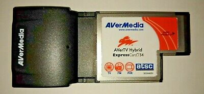 AVerMedia AVerTV Hybrid Express TV Laptop Tuner Card Model HC80 (ATSC)
