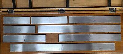 Dearborn Ford Rectangular Steel Largelong Gage Block Set - Nn41 5.0 To 20