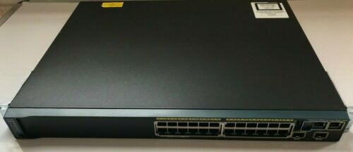 Cisco WS-C2960S-24PD-L Gb Ether Switch - 24x 10/100/1000 PoE 2x 10G SFP & Stack