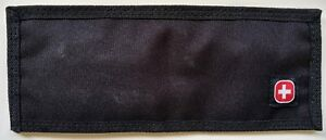 Men's Wallet (Promotional Wenger Swiss Army Knife Item) Canvas Like Fabric NEW