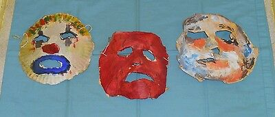 original Rob Zombie's HALLOWEEN masks lot 04, 05, 06 screen-used movie prop](Rob Zombie's Halloween Movies)