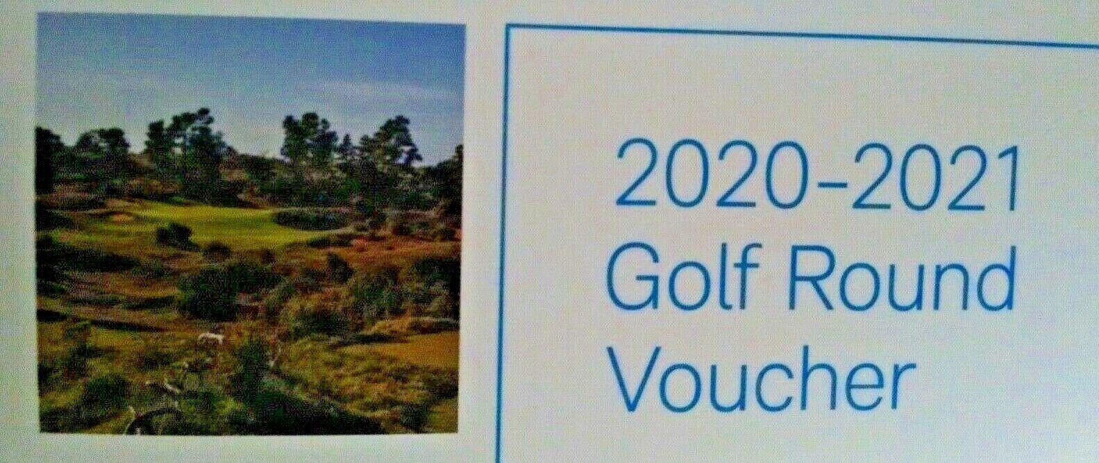 TPC Sawgrass Golf Voucher Valid Oct 2020 - Mar 2021 - $250.00