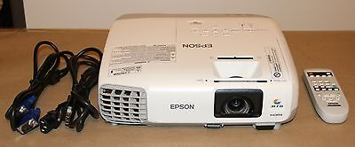 Epson PowerLite 97 -3 LCD Projector w/HDMI.2700 lumens. Lamps Hours 3604 to 3893