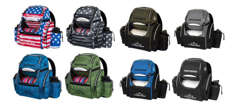 Dynamic Discs Disc Golf Backpack Bag - Paratrooper - Holds 18+ Discs
