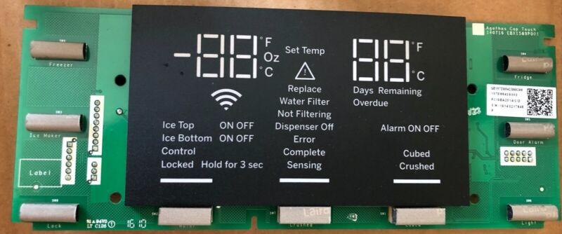 Ge Display Board Autofill For Refrigerator Model:dfe28jmkfes