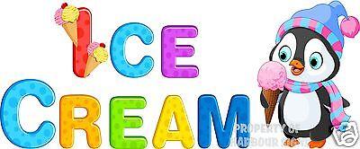 Ice Cream Decal 24 Concession Restaurant Food Truck Vinyl Menu Sticker