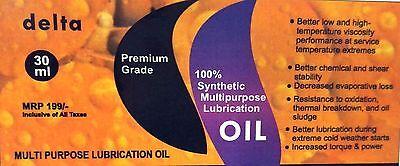 Small Motor Ac Motor Lubrication Lube Lubricant Oil 30ml  Delta Brand